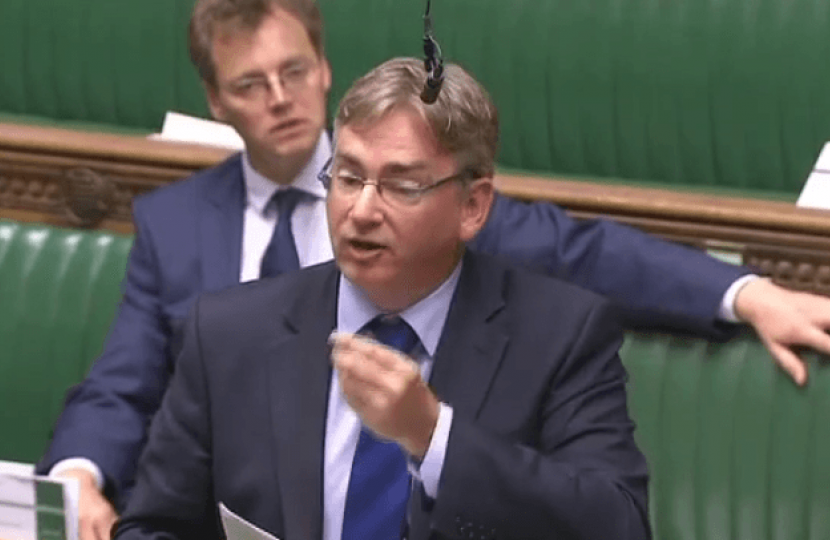 Julian Knight MP in Parliament.